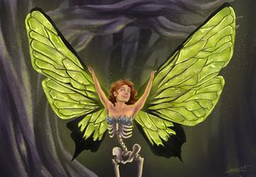 Skeleton fairy