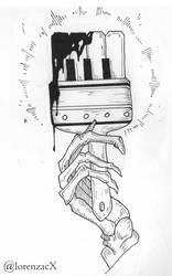player paintbrush skeleton