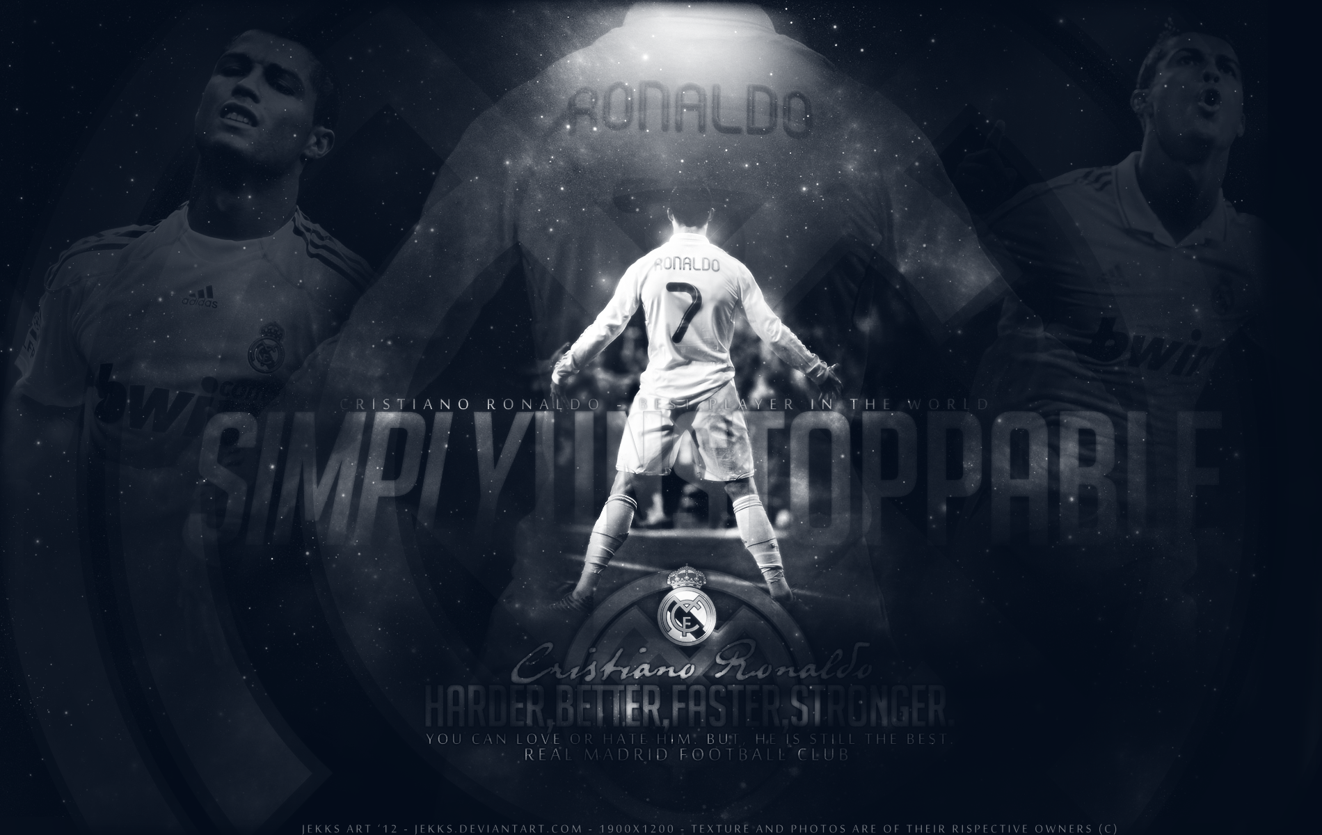 CRISTIANO RONALDO 7 - THE BEST by Jekks
