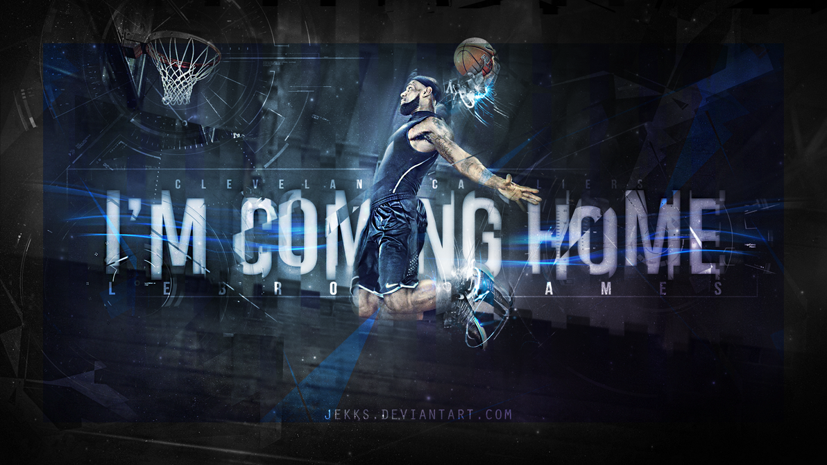 LEBRON JAMES - I'M COMING HOME - CAVALIERS by Jekks