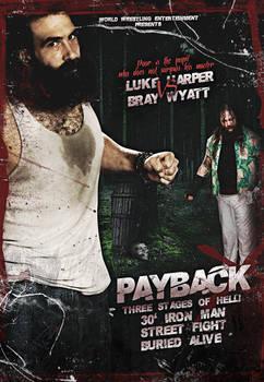 LUKE HARPER VS BRAY WYATT
