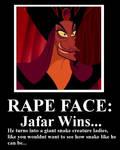 Jafar Rape Face
