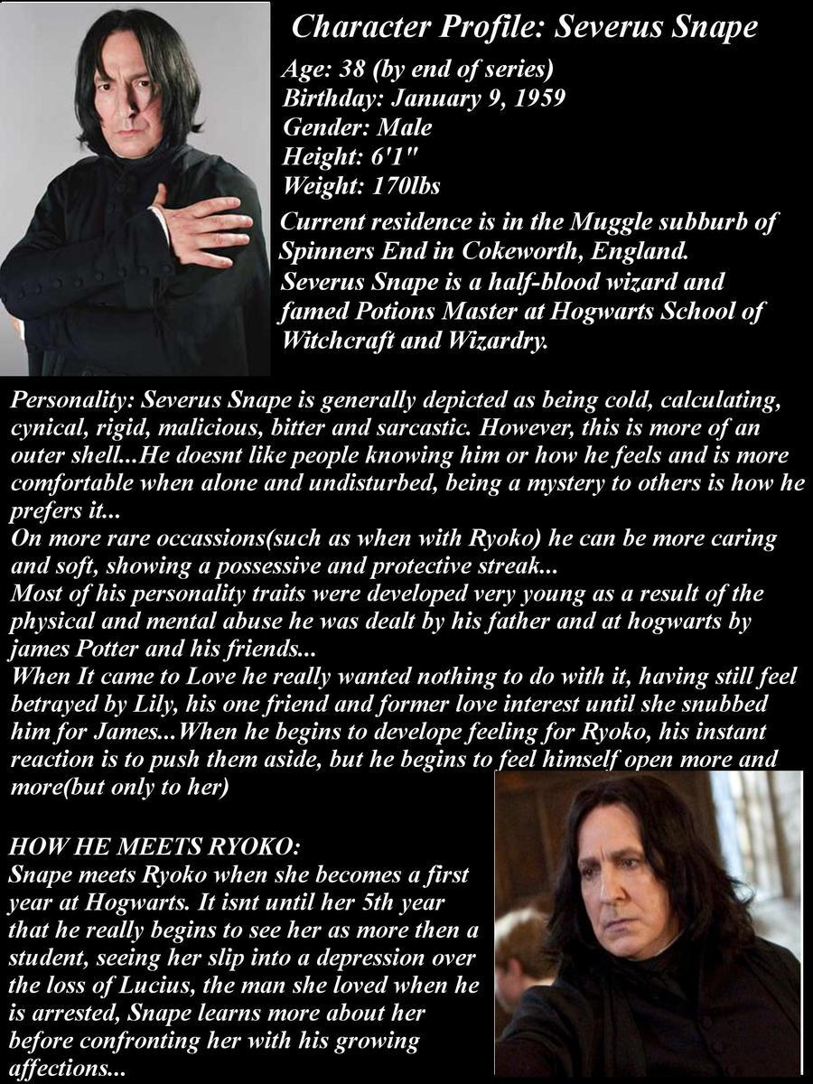 Severus Snape Smiling