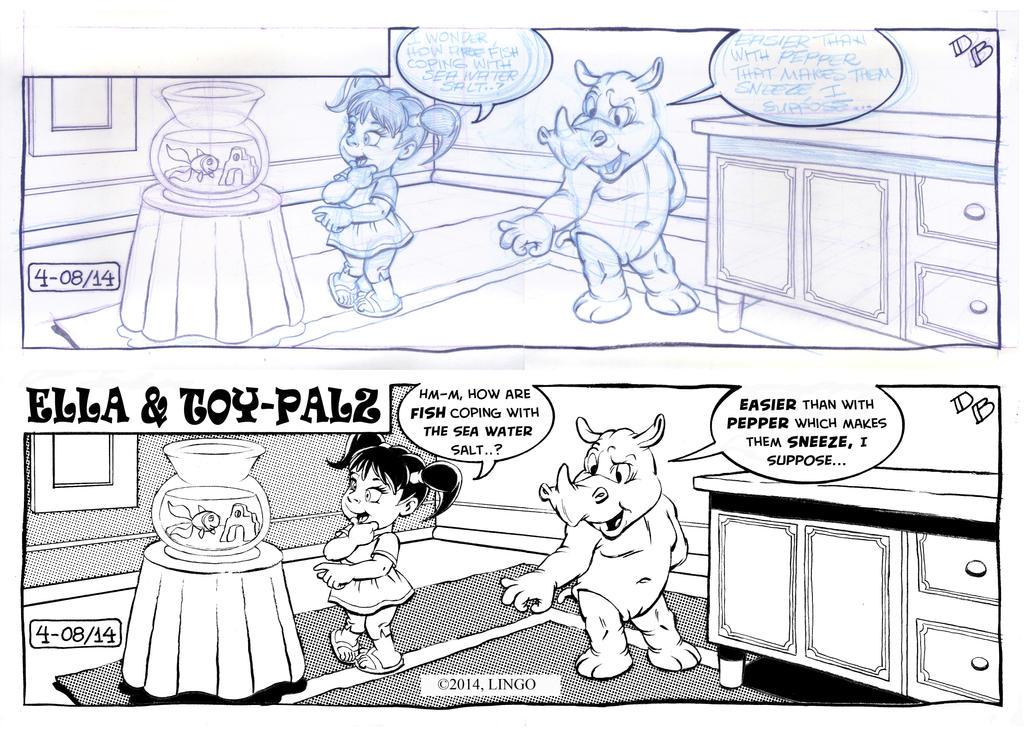 Ella & ToyPalz 4 WIP by Boyann