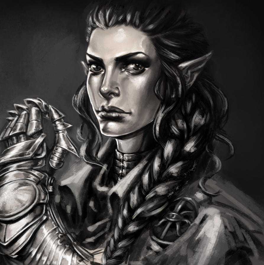 Dragon Age Inquisitor - Elf by artmaiar
