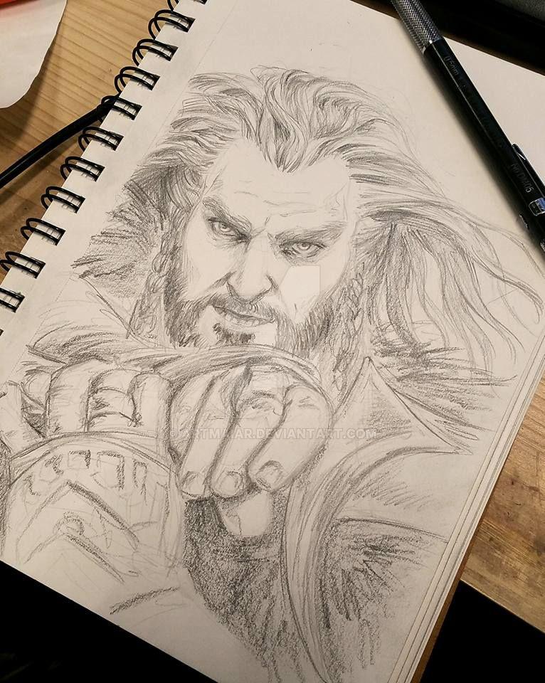 Sketchbook: Thorin Oakenshield by artmaiar