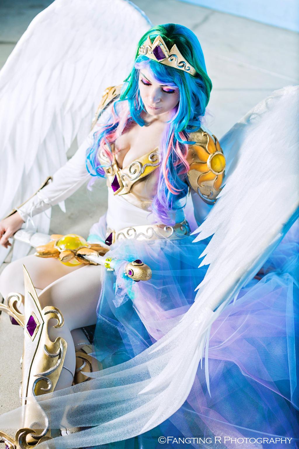 Princess Celestia By Annalynncosplay On Deviantart