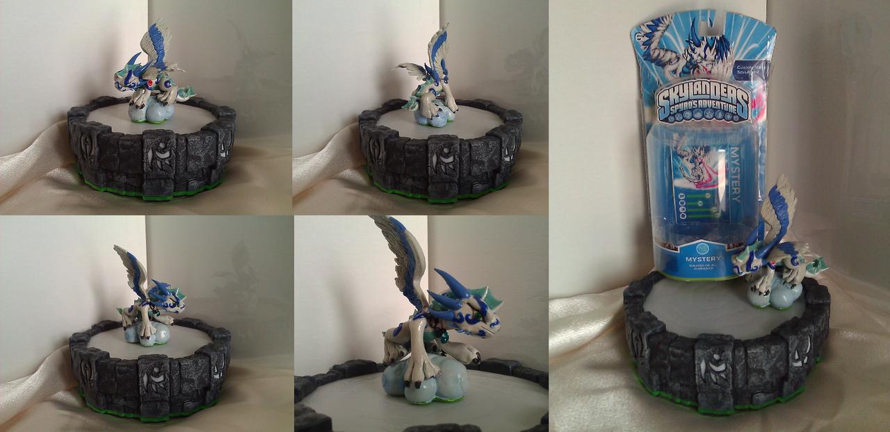 Custom Skylanders Toy ::Mystery by Neffertity