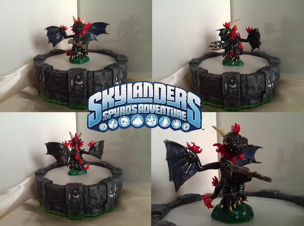 GIFT Skylander Midnight by Neffertity
