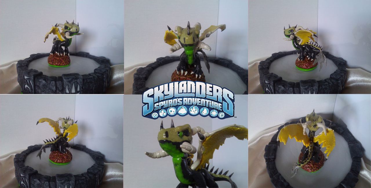 Custom Skylanders Toy:: Karakamooni OC by Neffertity