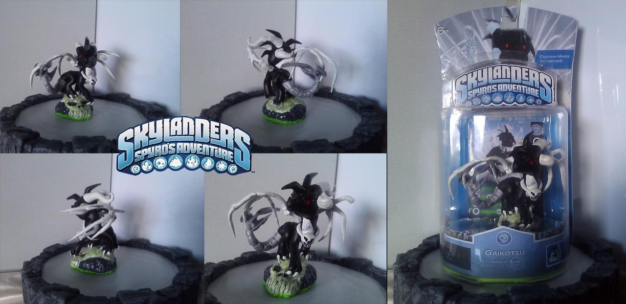 Custom Skylanders Toy:: Gaikotsu RAFFLE PRIZE by Neffertity