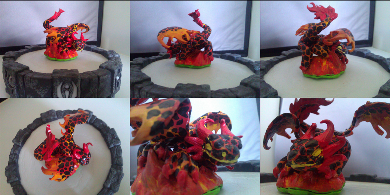 Custom Skylanders Toy:: Fire Mystery by Neffertity