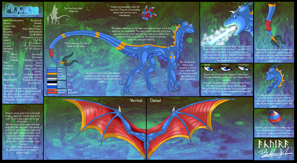 GIFT:: Aquira Reference Sheet by Neffertity