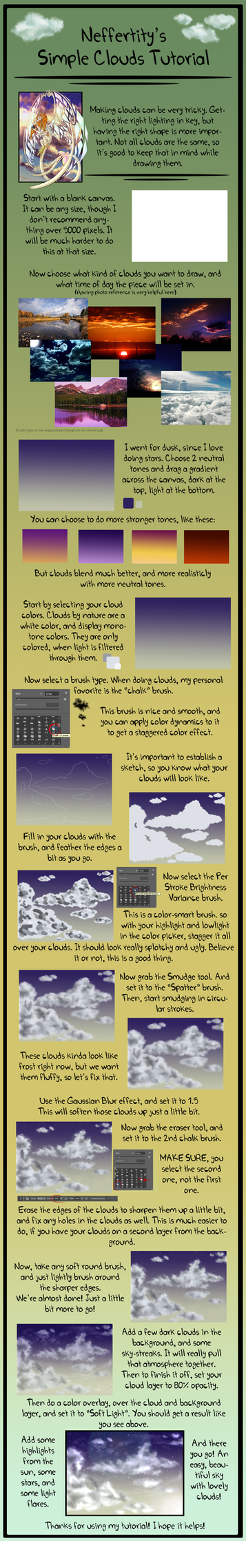 Cloud Tutorial by Neffertity