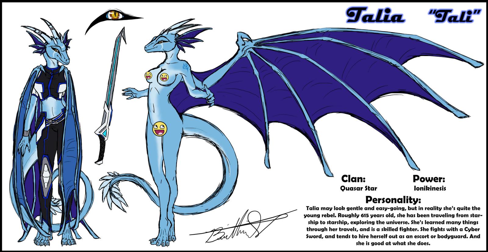 Outdated Star Dragon Oc Talia By Neffertity On Deviantart