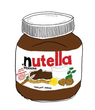 תוצאת תמונה עבור nutella png