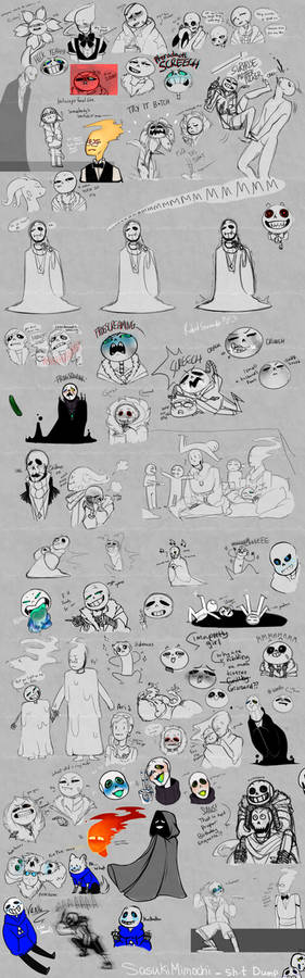 Shet post Compilation [undertale edition]