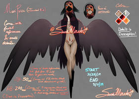 Jeweled Bird Adopt [On hold until further notice] by SasukiMimochi