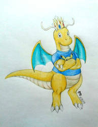 [Gift] His Majesty King Dragonite