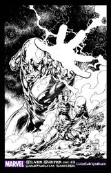 SILVER SURFER COVER 3