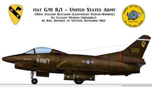 -Whif - U.S. Army FIAT G.91