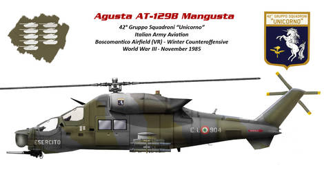 Agusta AT-129B Mangusta (Italian Hind)