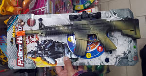 Chinese toy guns sold in Italy 6/7