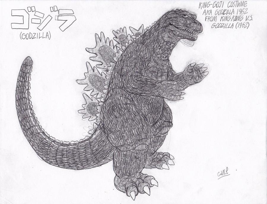 Godzilla 1962 Suit Godzilla 1962 Suit Design by