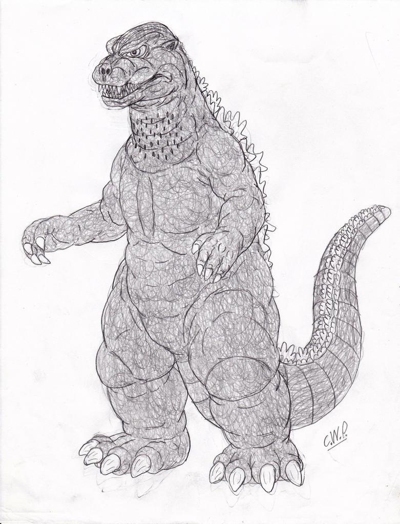 Godzilla 1984 Suit Design by cwpetesch on DeviantArt