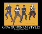 The Avenger Gungnam Style!