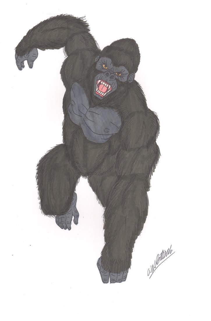 King Kong Color by cwpetesch on DeviantArt Pacific Rim Kaiju Stats