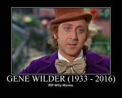 RIP Gene Wilder by cwpetesch
