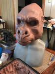 King Kong WIP Head Sculpture 2
