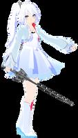 (MMDxRWBY) Weiss Schnee UPDATE (Weiss 3.0)