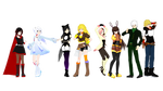 (MMDxRWBY) My RWBY Characters so far...(READ DESC)