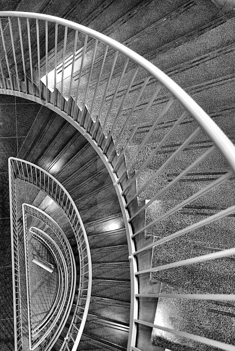 Half Spiral Staircase By Basseca On Deviantart
