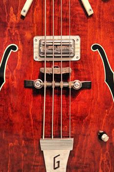 Gretsch 6071 Bass Body Close