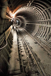 TTC:  Bloor Line Tunnel by basseca