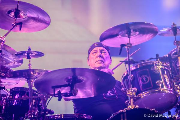Rush: Neil Peart in Toronto II by basseca