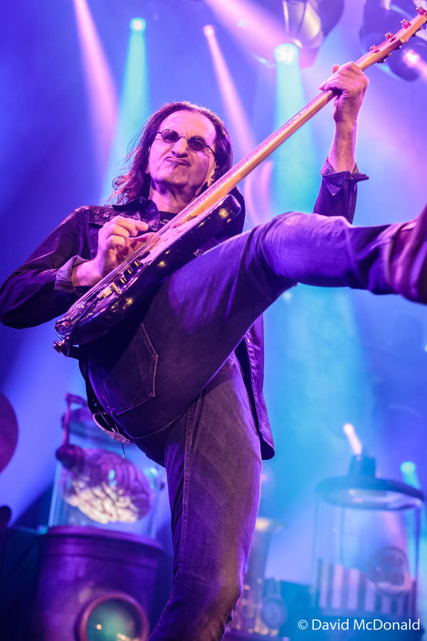 Rush: Geddy Lee in Toronto II by basseca