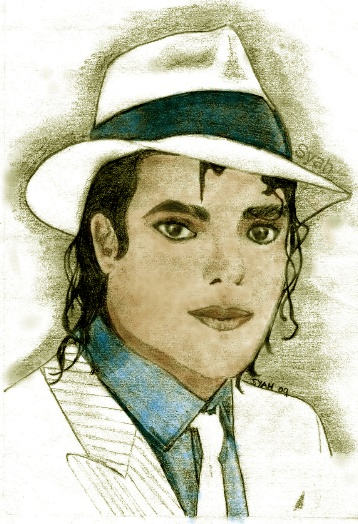 Mr MJ Smooth in Watercolor by syah-mj