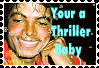 Your a Thriller Baby Stamp by syah-mj