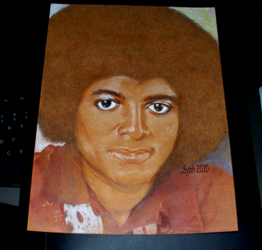 Michael AfroFantastic Age 20 by syah-mj