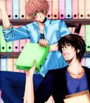 Masamune and Ritsu
