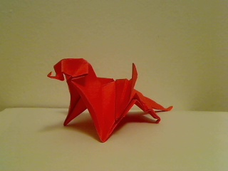 Origami Dragon by paperluigi99