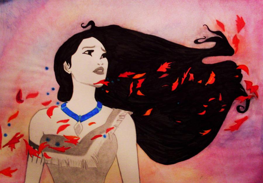 Pocahontas by MalinPihl