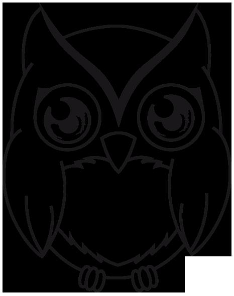 Line Art Owl : Little grey owl lineart by mew christiana on deviantart