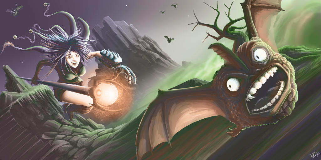 witch by algof