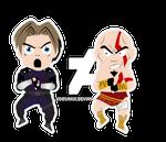 Leon e Kratos