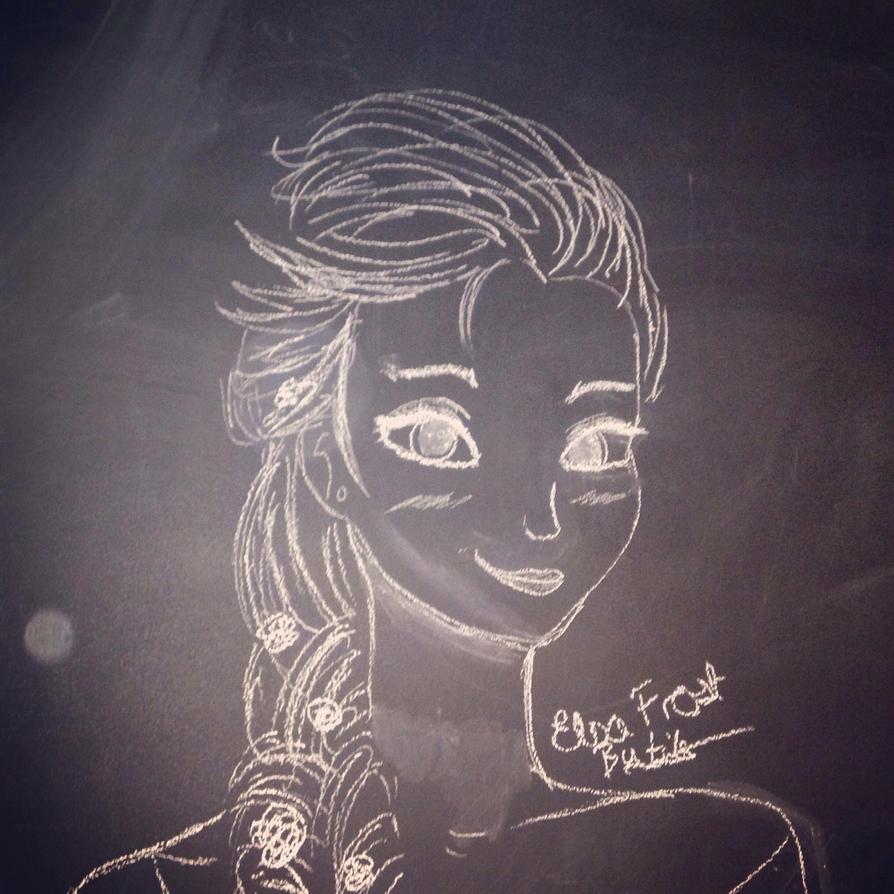 Elsa fan art by bytita